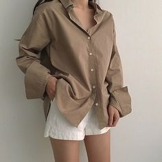 korean fashion summer outfits ulzzang girl kfashion shorts shirt 얼짱 casual clothes street everyday comfy aesthetic soft minimalistic kawaii cute g e o r g i a n a : c l o t h e s Summer Outfits, Casual Outfits, Girl Outfits, Cute Outfits, Fashion Outfits, Womens Fashion, Casual Clothes, Grunge Style, Soft Grunge