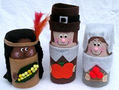 TP Pilgrims and Indians {Tutorial} #kids