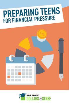 Preparing Teens for Financial Pressure #money #education