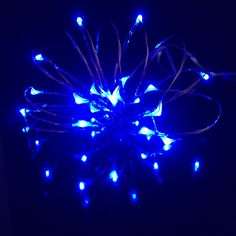 20 Micro LED 'Rice' Lights - Battery Operated Fairy Lights