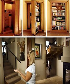 I've always wanted secret passage ways in my house..
