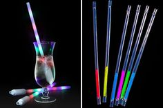 Glow in the Dark Straws   23 Straws for Summer Sippers