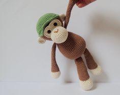 Crochet pattern monkeys Michel and Robin Amigurumi pattern