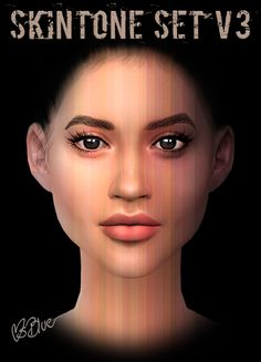 Lana CC Finds - Skintone Set V3 by MsBlue