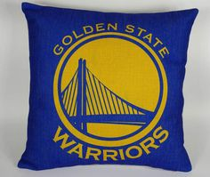 Hey, I found this really awesome Etsy listing at https://www.etsy.com/listing/216497571/nba-golden-state-warriors-pillow-cover