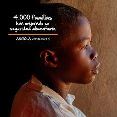 En 5 años en Angola hemos ayudado a que más de 4.000 familias mejoren su seguridad alimentaria y ahora, sus hijos pueden ir al colegio.  No podemos esconder nuestro orgulloso de todo lo que están consiguiendo.