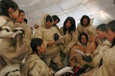 Maestra de Primaria: Los esquimales. Los inuit: costumbres, alimentación, vivienda, caza...