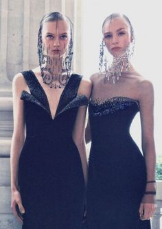 Nastya Kusakina & Hedvig Palm by Patrick Demarchelier for Vogue China Collections