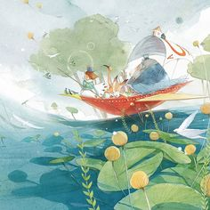 Through the looking-glass and what Alice found there / © Kim Minji - illustrator