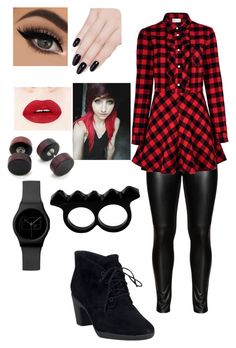 """""""everyday"""" by angelofdarkness-15 on Polyvore featuring Studio, RED Valentino, Clarks, ncLA and L'Artisan Créateur"""