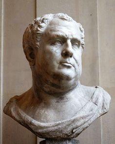Vitellius era bonachão e preguiçoso, mas era sobretudo um glutão que se preocupava mais com comidas e bebidas do que com o Império