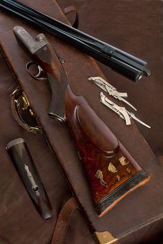 Stewart Granger had 2 Westley Richards 577's. This rifle was made originally in 1923 for Count Alfred Potocki whose uncle Joseph, was author of the very rare book 'Sport in Somaliland'