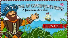 3-On the Trail of Captain John Smith (Nat Geo Kids Interactive)