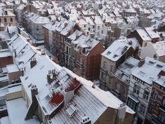 Rooftops of Brussels | Belgium (by seikinsou)                                                                                                                                                                                      Source:                                                                           travelingcolors