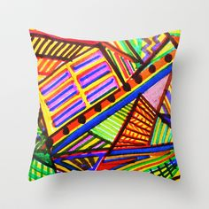 Birds of a Different Feather Throw Pillow by Rokin Art by RokinRonda - $20.00