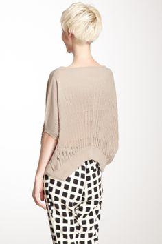 Oversize Crop Sweater on HauteLook
