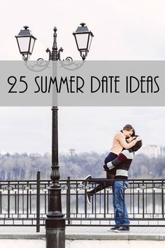 If you're looking for some Summer date ideas to spice things up - check out these 25 great ideas to keep you busy all Summer long!