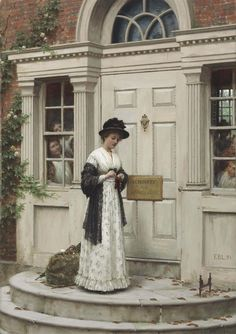 Edmund Blair Leighton, The New Governess