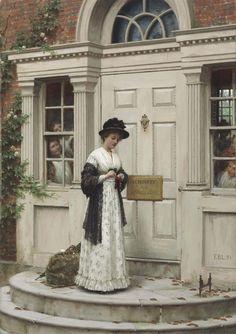 Edmund Blair Leighton, The New Governess