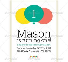 Birthday Party Invitation Template By Creative Flyers On