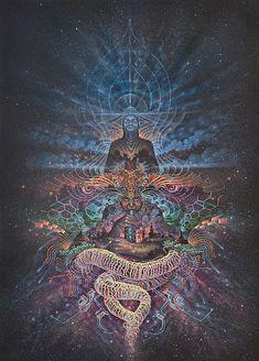 Visionary artwork of Luis Tamani Virtual Gallery Originals paintings Prints Visionary artwork of Luis Tamani Virtual Gallery Originals paintings Prints Organic Paper Psychedelic Art, Cosmic Art, Psy Art, Spirited Art, Mystique, Hippie Art, Visionary Art, Sacred Geometry, Art Google