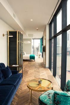 Take a First Look Inside the New Williamsburg Hotel: We had the chance to be one of the first guests to get a glimpse of the new property, and we can safely say it is poised. | Coveteur.com