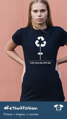 Teemill lets you build your own online store and sell t-shirts online. Organic Cotton T Shirts, Sustainable Clothing, Earth Day, Tshirts Online, Shirt Outfit, Healthy Life, Journey, Street Style, Pure Products