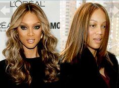with no makeup! Tyra Banks