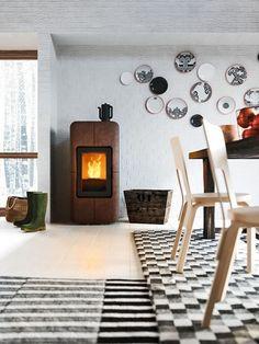 75 best stufa pellet design images on Pinterest | Fire places, Range ...