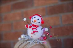 Over the Top Frosty the Snowman inspired Headband - Perfect Tacky Holiday Photo Prop or Ugly Christmas Sweater Party