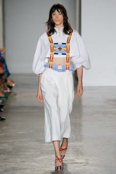 Stella Jean Spring 2018 Ready-to-Wear Collection Photos - Vogue