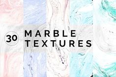 Marble Paper Textures Vol.2 by bolpent on @creativemarket