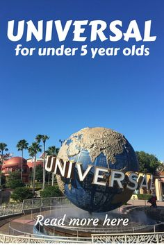 Read our review all about Universal Orlando resort for under 5 year olds. If you're visiting with younger children this is the perfect guide of which rides to visit, which to avoid and some great top tips for getting the most out of your day.