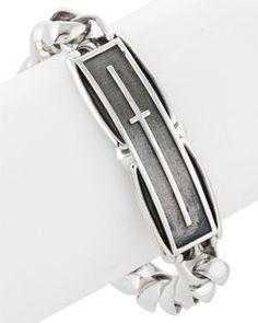Franco Pianegonda 'Character' Silver Bracelet
