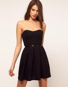 Black cute dress
