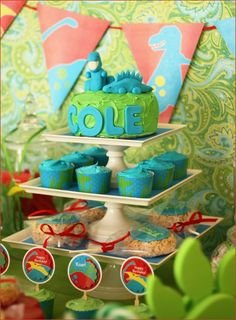 REAL PARTIES: Dino-ROAR Birthday! Already planning for the first birthday party - too much?