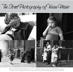 Love this article!!! 10 Lessons We Can Learn from the Street Photography of Vivian Maier iHeartFaces.com