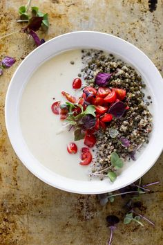 Coconut Quinoa Power Bowls will charge you up in the morning