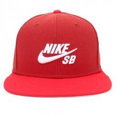 c2fd99ad64bb3 Boné Nike SB Snapback Icon Vinho Vermelho Nike Sb