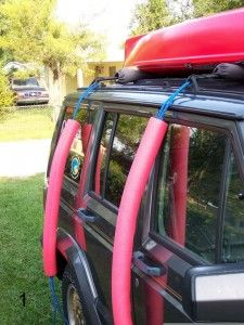 Kayak Storage Trailer Paddle Fishing asked it's readers how they use pool noodles – check out some great uses for fishing/camping. Sit In Fishing Kayak, Canoe And Kayak, Fishing Tips, Fly Fishing, Canoe Boat, Fishing Knots, Canoe Trip, Camping Gear, Camping Hacks
