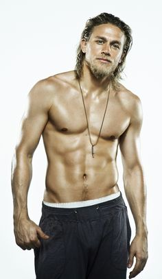 Charlie Hunnam... The only man I have ever thought was gorgeous with long hair...