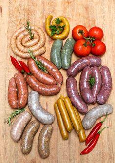 Homemade Sausage Recipes, Italian Sausage Recipes, Hot Dog Recipes, Chorizo, Food Park, Biltong, Light Diet, Shawarma, Smoking Meat