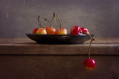 Still Life with Cherries by ©Anna Nemoy Photography. All Rights Reserved.