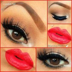 Pin Up Makeup!