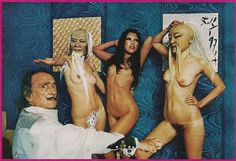 """The Erotic Art of Salvador Dali,"" Playboy - December 1974"
