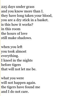 When you left you took almost everything... - Charles Bukowski