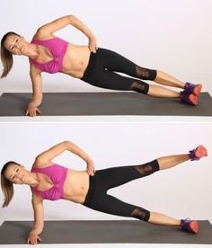 Are you looking for how to get rid of muffin tops? Read on for the best exercises to get rid of love handles, muffin tops and strengthen your obliques. Best Leg Workout, Gym Workout Videos, Workout For Flat Stomach, Hip Workout, Small Waist Workout, Slim Waist Workout, Weight Lifting Workouts, Toning Workouts, Leg Toning