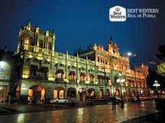 """EL MEJOR HOTEL EN PUEBLA. La capital poblana, es una de las ciudades más """"chulas"""" de México. En Best Western Real de Puebla, le invitamos a hospedarse con nosotros para que disfrute de todos los atractivos de nuestra ciudad y de nuestras instalaciones. Si desea realizar su reservación, puede llamarnos al (222)2300122. #hotelenpuebla"""