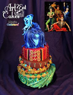 Cirque Costume Collab DRALION by Heather -Art2Eat Cakes- Sherman
