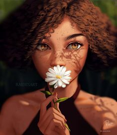 Black Girl Cartoon, Cartoon Girl Drawing, Black Girl Art, Black Women Art, Digital Art Girl, Digital Portrait, Cool Art Drawings, Art Sketches, Applis Photo